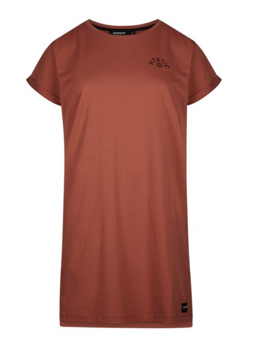 Mystic Once Upon an Eye Dress Rusty Red
