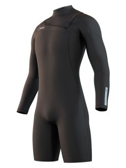 MYSTIC MENS MARSHALL 3/2MM LONG SLEEVE SHORTY WETSUIT
