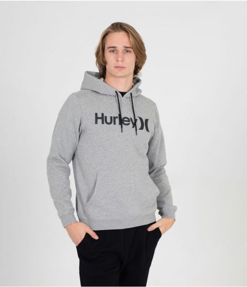 hurley one and only pullover Grey / Black